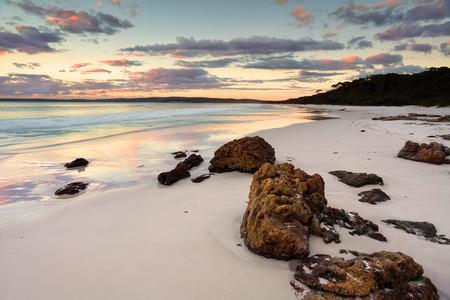 nsw: The sunrise at Hyams Beach was beautiful.  Jervis Bay NSW Australia