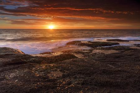 suburbs: Sunrise at Coogee, Eastern suburbs, Sydney, Australia