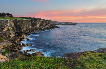 headland: Views from the top of the  northern sandstone headland at Coogee