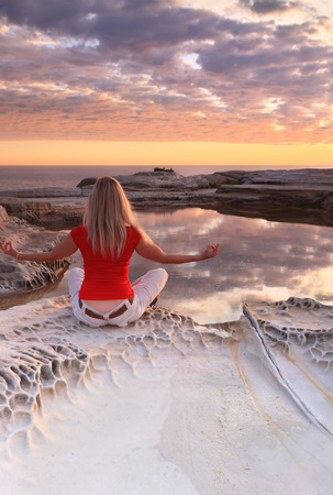 ponder: One of my favourite spots to sit ponder or meditate, is here by the shallow rockpool