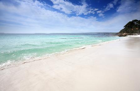 unspoilt: Beautiful unspoilt beaches of Jervis Bay, Australia