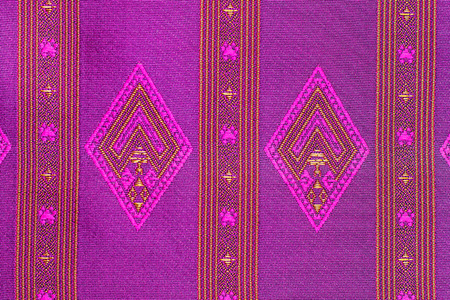 Background patterned cloth Thailand.