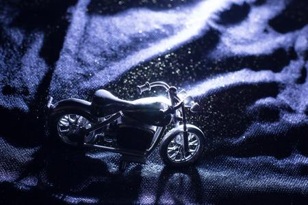 motobike: Motobike model on velvet.