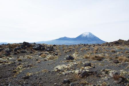 active volcano: Mount Ngauruhoe is an active volcano, located in the Tongariro National Park of New Zealand.