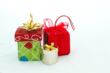 Gift packages in various shapes, are prepared for special occasions such as the Christmas and New Year's. Unwrapping gift packages always be excited.