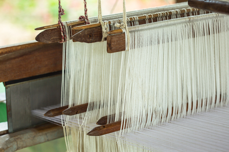 Heddle is a component in a loom, that devides the thread during weaving. Local hand weaving knowledge passes on generations, without written formulas nor recipes.