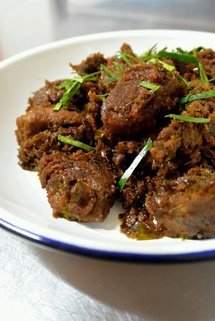 kampung: Beef Rendang Dry Beef Curry