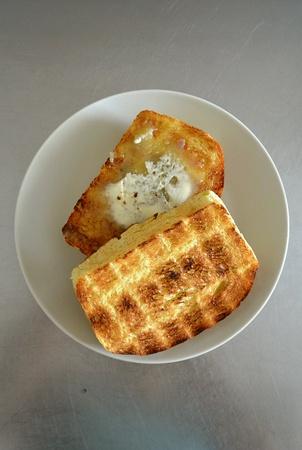 teatime: Breakfast Teatime Malaysia Roti Kaya Bread Slice Roti Bakar Toast