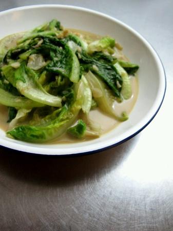 bean curd: Chinese Stir Fried Romaine with Fermented Bean Curd