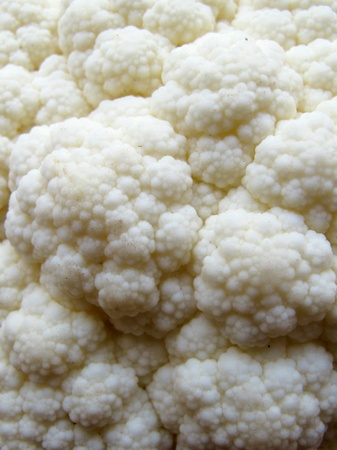 close: Close Up Cauliflower