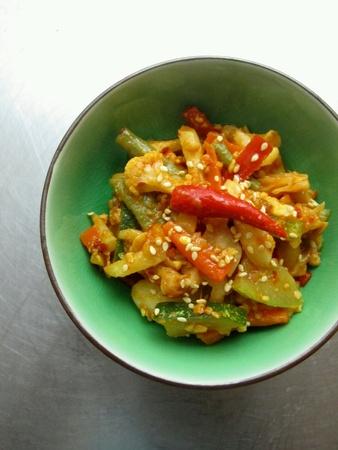 encurtidos: Malasia vegetal Alimentos Acha Achar Pickles Foto de archivo