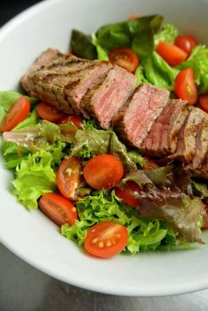 Healthy Eating Food Grilled Beef Salad