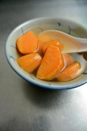 sui: Malaysian Chinese Food Dessert Sweet Potato Tong Sui Sweet Soup Stock Photo