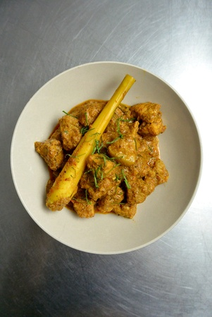 Malaysian Chinese Nyonya Food Spicy Pork Rendang Babi Dry Curry