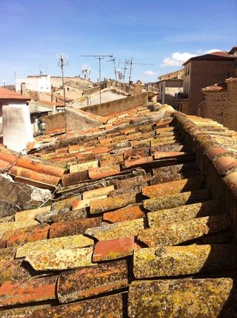 tile: Red tile roof