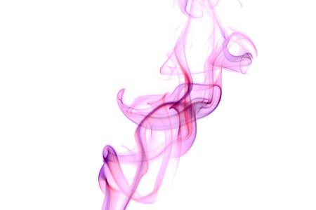 Photo of an Abstract Smoke on White Banco de Imagens - 11946358