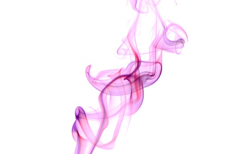 Picture of an Abstract Smoke on White Banco de Imagens - 12498894