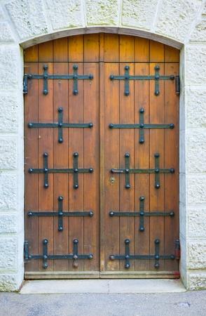 Old Brown Door photo