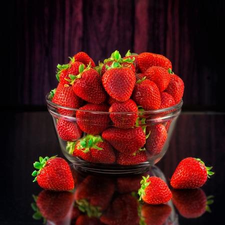 Still-life strawberries