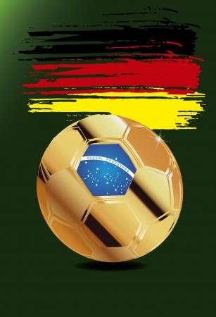 Germany wm brazil 2014 Vector