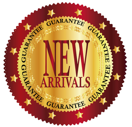 New arrivals sign Vector
