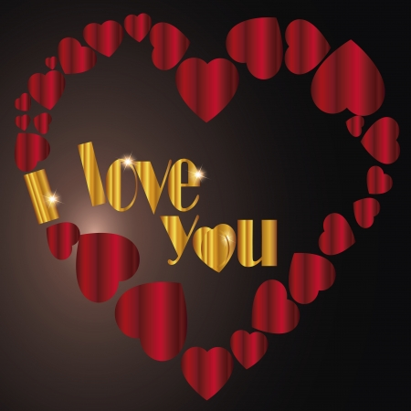 I Love You   Greetings Card  photo