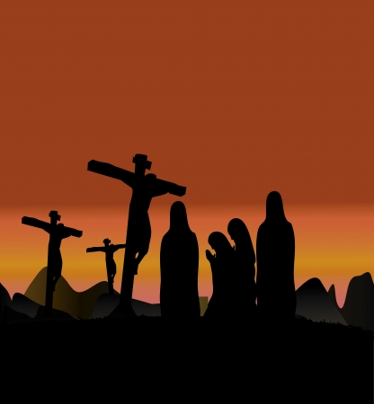 Drie Kruisen, Kruisiging Jezus Christus
