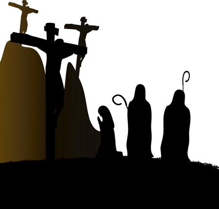 crucify: Crucifixion Jesus Christ