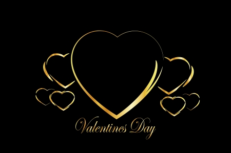 valentines Day background black and white