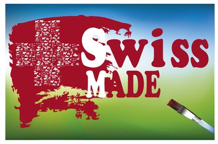general merchandise: swiss made  make in Switzerland