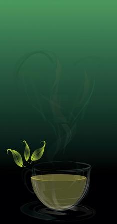 love tea Vector