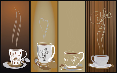 Coffee design elements Vector