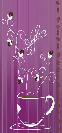 Cafe au Lait   Coffee Ad