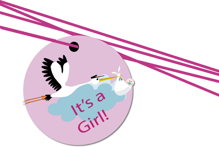 baby  its a girl photo