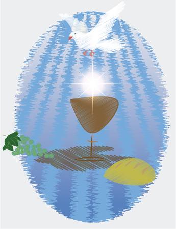 Eerste Heilige Communie, is een ceremonie gehouden in de Latijnse Kerk traditie van de katholieke kerk. Het is de informele naam voor een persoon de eerste ontvangst van het sacrament van de eucharistie,