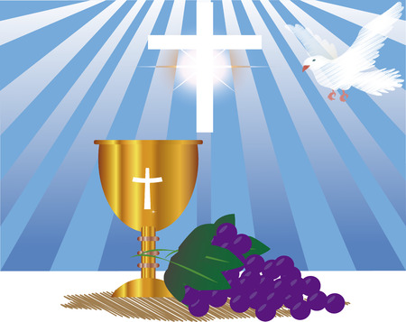 colloquial: First Holy Communion, is a ceremony held in the Latin Church tradition of the Catholic Church. It is the colloquial name for a persons first reception of the sacrament of the Holy Eucharist,