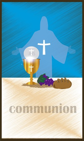 colloquial: The First Communion, or First Holy Communion, is a ceremony held in the Latin Church tradition of the Catholic Church. It is the colloquial name for a persons first reception of the sacrament of the Holy Eucharist