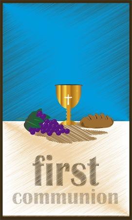 De Eerste Heilige Communie, of Eerste Heilige Communie, is een ceremonie gehouden in de Latijnse Kerk traditie van de katholieke kerk. Het is de informele naam voor een persoon de eerste ontvangst van het sacrament van de eucharistie