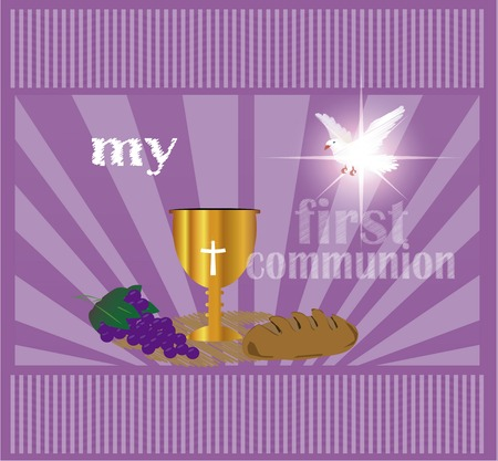 jesus standing: First Holy Communion, is a ceremony