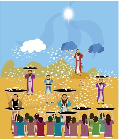 Manna, the bread from God