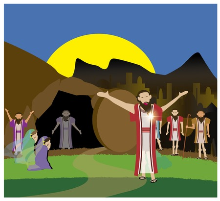 mummified: Jesus resurrect