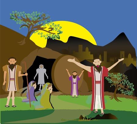 Jesus resurrect