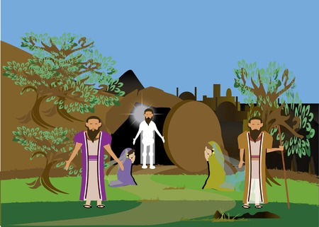 resurrect: Jesus resurrect Lazarus who was a brother of Martha and Mary