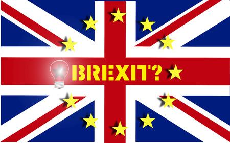 decides: Brexit UK EU referendum Stock Photo