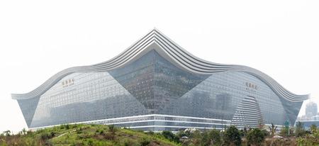 sichuan province: Chengdu, Sichuan Province, China - May 28, 2015: Chengdu Global Center