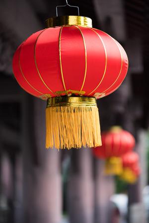 ahorcada: Linternas rojas chinas