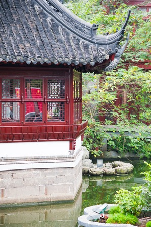 Old traditional chinese pavilion