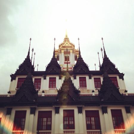 metal: Metal castle of Thailand