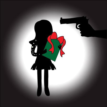 hitman: he robs her gift