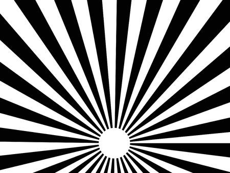 sol naciente: Resumen de vectores de fondo de negro explosi�n del sol los rayos